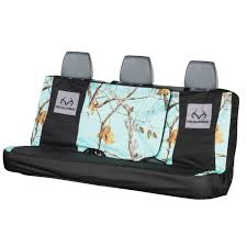 realtree mint camo switch back bench seat cover realtree mint