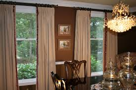 dining room window treatments 2017 grasscloth wallpaper