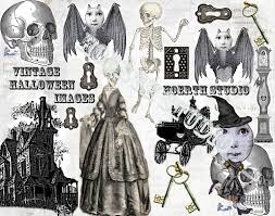 steampunk halloween printable halloween steampunk victorian gothic collage sheet