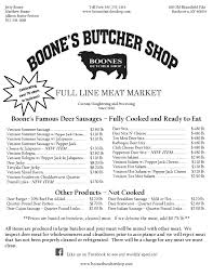 boone u0027s butcher shop bardstown kentucky
