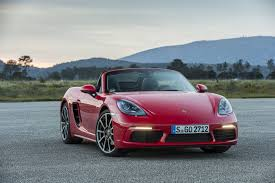 red porsche boxster 2017 2017 porsche 718 boxster review gtspirit