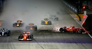 maserati singapore hamilton wins singapore gp after vettel crashes iol motoring
