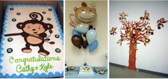 monkey centerpieces for baby shower personalized baby shower decorations baby shower ideas