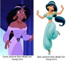 princess jasmine inaccurate suitable role model