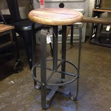 furniture fabulous cabin counter stools reclaimed wood and metal