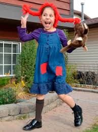 Pippi Longstocking Costume Halloween In Character 50 Mighty Costumes Based On Tv Movie