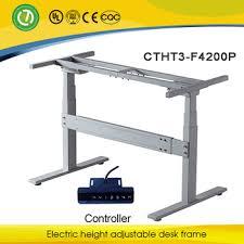 Electric Height Adjustable Computer Desk Counter Height Adjustable Mechanisms Electric Height