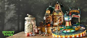 lemax spooky town halloween village collection