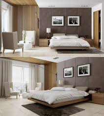 Bedroom Ideas With Upholstered Headboards Bedroom Minimalist Bachelor Bedroom Features Modern Platform Bed