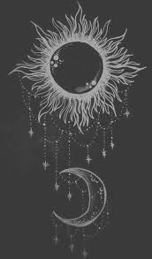 drawing art black and white white hipster vintage indie b u0026w moon