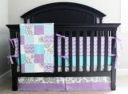 Teal And Purple Crib Bedding Teal And Purple Crib Bedding Home Design Ideas