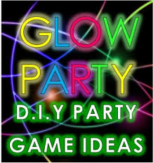 glow in the party decorations awesome glow party ideas and neon party