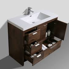 41 Bathroom Vanity Almendarez Free Standing Modern 41 Single Bathroom Vanity Set