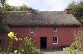 historical buildings at st fagans national museum wales