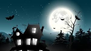 halloween background 1280x720 house of halloween hd wallpaper 10554