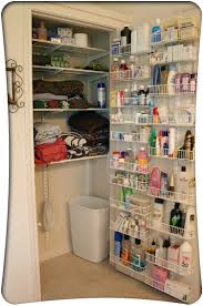 Organizing Ideas For Bathrooms by Organize Overflowing Bathroom Beauty Products With Crown Molding