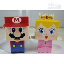 mario wrapping paper new mario wedding favor boxes baby shower candy sweet box
