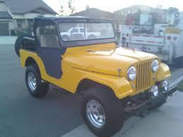 cj jeep yellow 1961 willys cj 5 information and photos momentcar