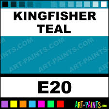 kingfisher teal casual colors spray paints aerosol decorative