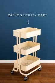 ikea wheeled cart ikea bar cart hack looks great modern wall sconces and bed ideas