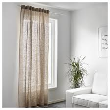 Rideau Opaque Ikea by Aina Tessuto A Metraggio Color Naturale Linen Curtain And Linens