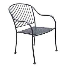 Wrought Iron Patio Chairs Chelsea Outdoor Wrought Iron Chair Sam S Club