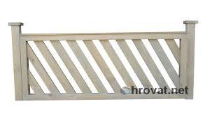 mizarstvo hrovat panel fence ograja 4 pod kotom panelna http