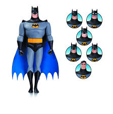 sep160384 batman animated batman expressions pack previews world