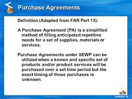 1 conference u002710 purchase agreements 2 conference u002710