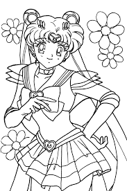 sailor moon coloring pages u2013 coloring pages