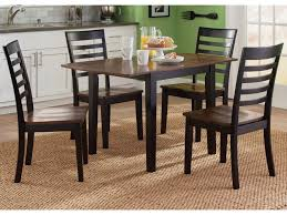 liberty furniture cafe dining 5 piece drop leaf table and slat