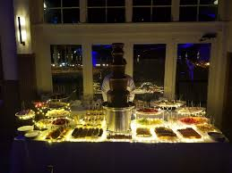 Un Delegates Dining Room Chocolate Velvet Fountains