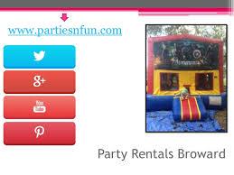party rentals broward party rentals broward