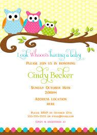 owl baby shower invitations neepic com