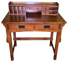 Desks With Hutches Storage Mission Style Computer Desks For Home Desk With Hutch Quarter Oak
