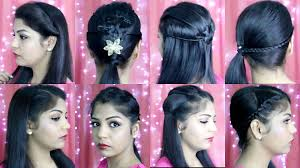 cute hairstyle for indian girls 4 quick and easy hairstyles
