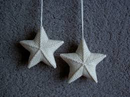 star ornaments could see this working in different colors