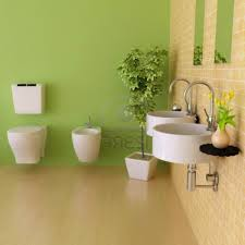 light green painted bathrooms house design and planning