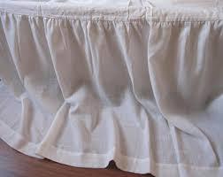 King Single Bed Valance Dorm Bed Skirt Etsy