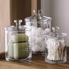 bathroom apothecary jar ideas astounding bathroom best 25 jars ideas on rustic glass