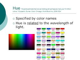 Pale Yellow Color Names Color Vision Sensing A Colorful World Ppt Download
