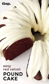 red velvet pound cake recipe pound cakes red velvet and cake