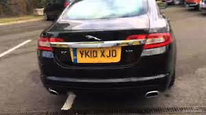 all black jaguar jaguar xf v8 portfolio black 2010 youtube