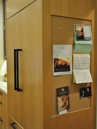 kitchen message center ideas organizing mistakes that make your house look messy refrigerator