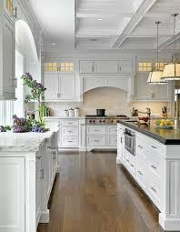 white kitchen with long island kitchens pinterest beautiful kitchens with white cabinets donatz info