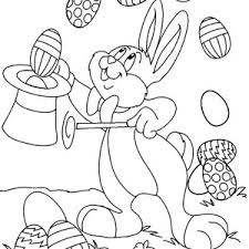 easter bunny pick a flower coloring page batch coloring
