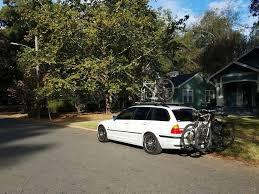 nissan leaf bike rack show us your wagons page 4 mtbr com