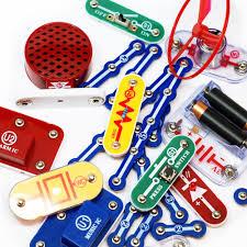 amazon com snap circuits jr sc 100 electronics discovery kit