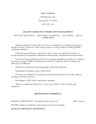 Ndt Technician Resume Example by Qc Inspector Cover Letter