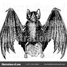 flying bat clipart 1118595 illustration by prawny vintage